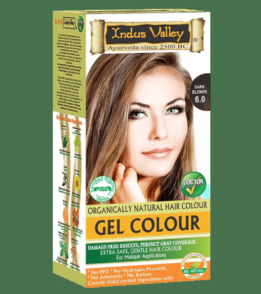 Gel Hair Colour Dark Blonde 6.0