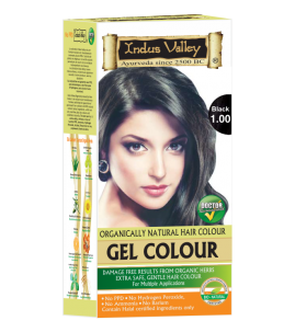 Gel Hair Colour Black 1.0