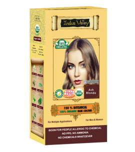 100% Botanical Hair Colour Ash Blonde