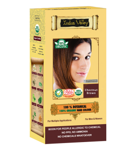 100% Botanical Hair Colour Chestnut Brown