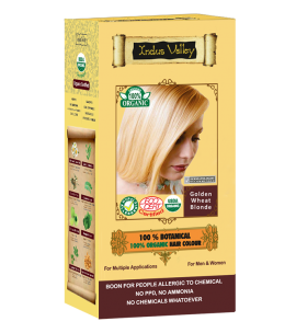 100% Botanical Hair Colour Golden Wheat Blonde