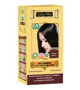 100% Botanical Hair Colour Indus Black