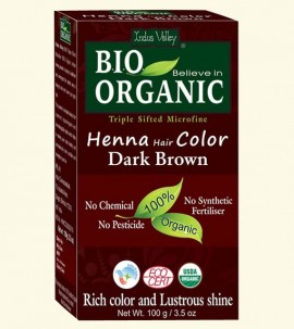 Bio Organic Dark Brown Henna powder Buy online