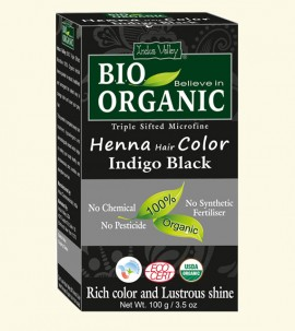 Henna Hair Colour Indigo Black