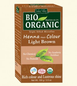 Indus valley Henna Hair Color Light Brown