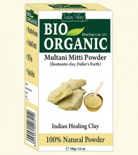 Indus Valley 200g BIO Organic Multani Mitti Powder