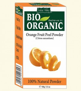 Indus valley Bio Organic Orange Peel Powder