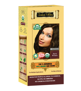 100% Botanical Hair Colour Dark Brown