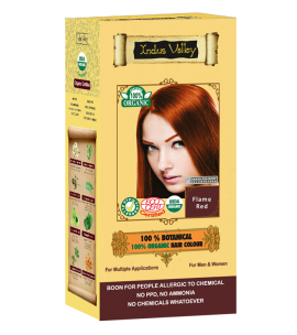 100% Botanical Hair Colour Flame Red