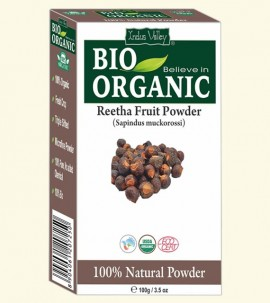 Indus valley Bio Organic Reetha Powder
