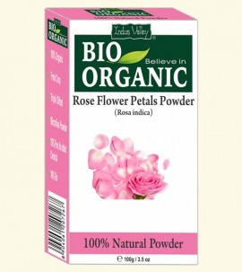 Indus valley Bio Organic Rose Petal Powder