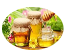 Honey moisturizes the dry skin and repairs our skin
