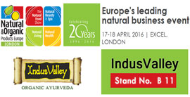 indis Vallet at London natural fair event