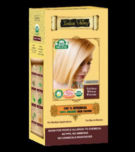 100% Botanical Hair Colour Golden Wheat Blonde