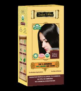 100% Botanical Hair Colour Indus Black