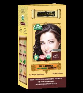 100% Botanical Hair Colour Light Brown