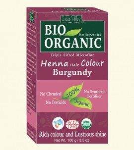 Indus valley Henna Hair Color Burgundy