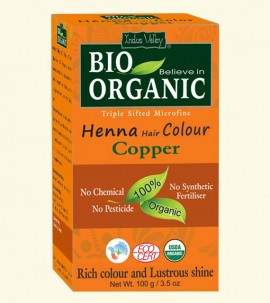 Indus valley Henna Hair Color Copper