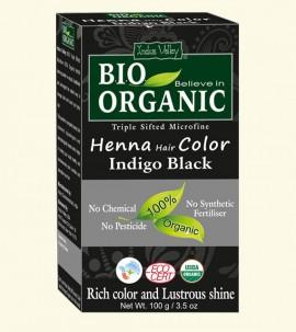 Henna Hair Colour Indigo Black