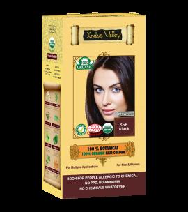 100% Botanical Hair Colour Soft Black