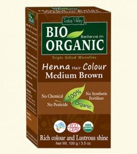 Indus valley Henna Hair Color Medium Brown