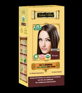 100% Botanical Hair Colour Brown