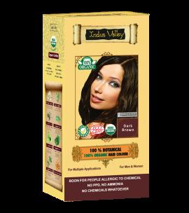 100% Botanical Hair Colour Dark Brown