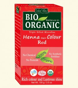 Indus valley Henna Hair Color Red